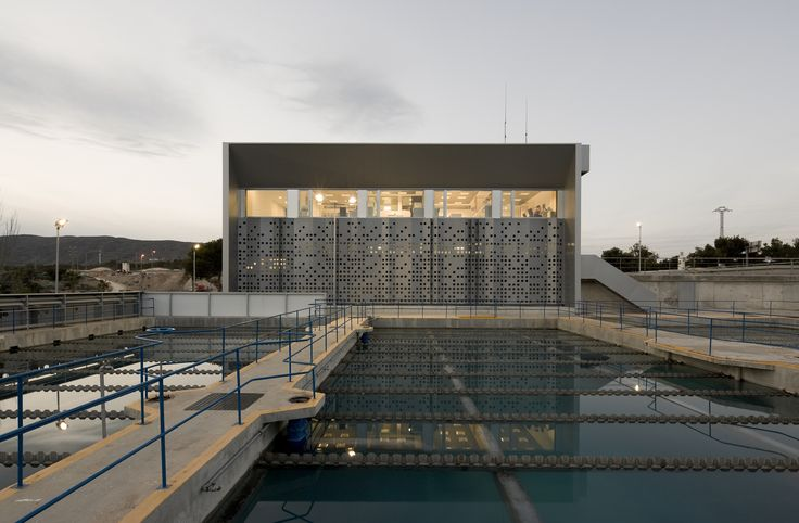 Estación de Tratamiento de Agua Potable de Benidorm
