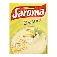 Saroma banaan, my favorite artificial flavor when i was a kid.......