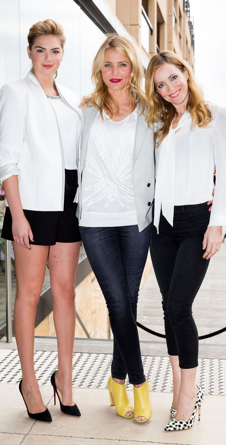 Kate, Cameron, and Leslie at a The Other Woman photo call in Sydney.