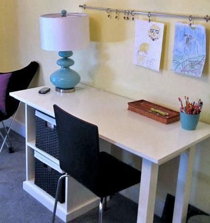 24 best rv desk images on pinterest rv living camper for Easy diy desk