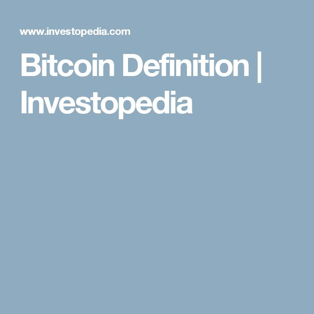 25+ Best Ideas about Bitcoin Definition on Pinterest | Pi