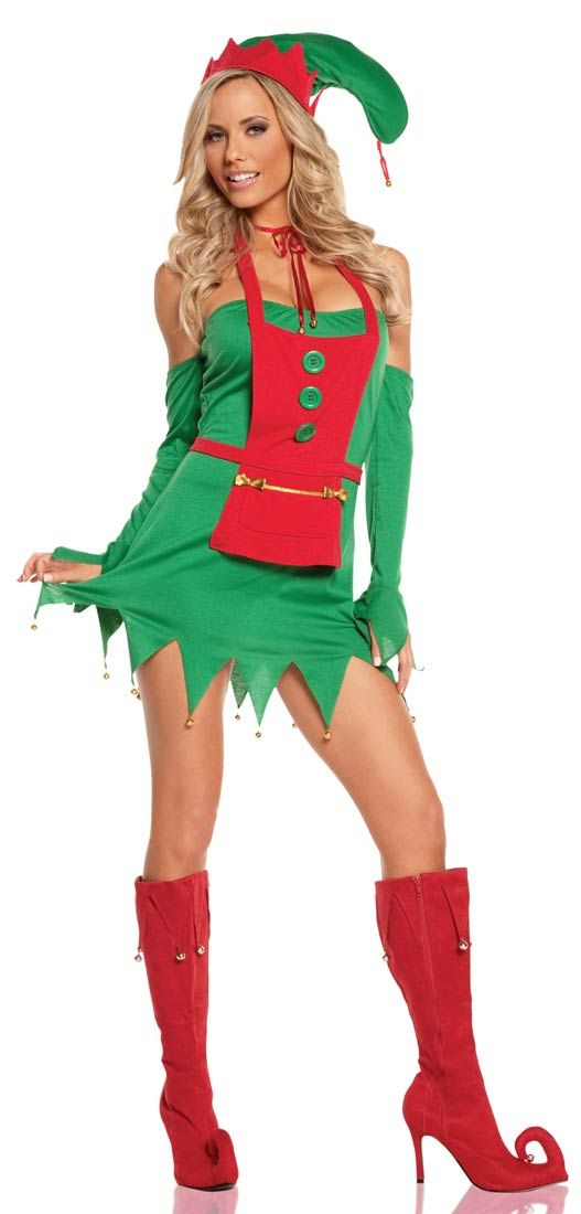 Holiday Helper Sexy Costume - Christmas Costumes