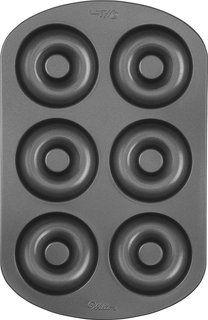 Wilton 2105-0565 - Molde para donas o rosquillas, 6 cavidades