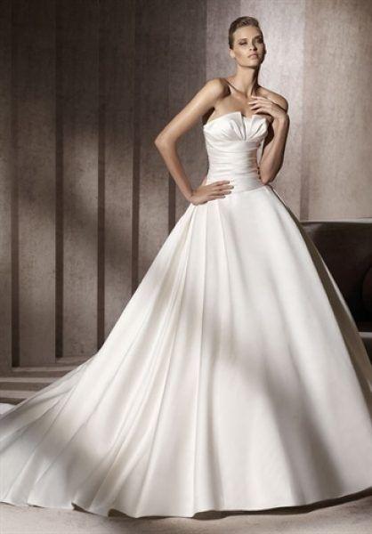 Rochie de mireasa, stil printesa.