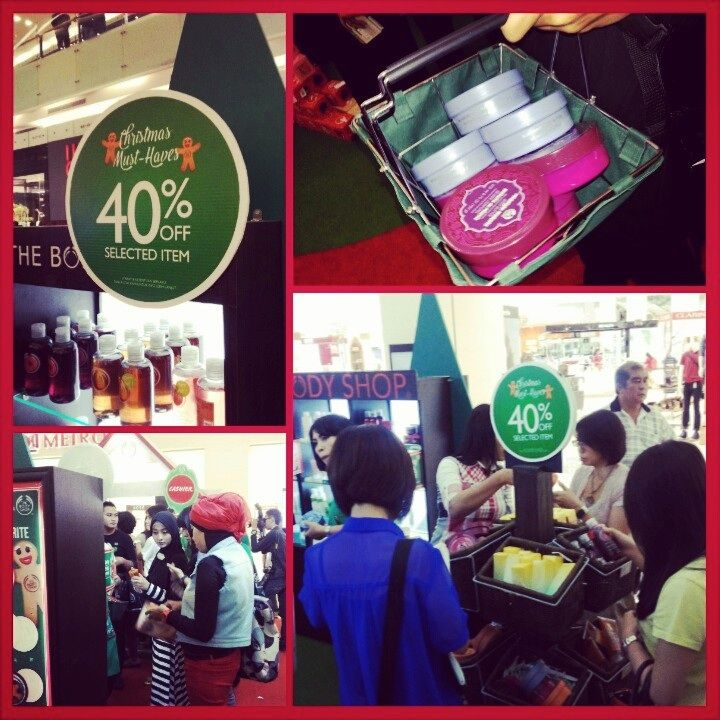 Happy hour diserbu pengunjung @CiputraWorld SBY #HappyHour #TBSGiveJoy @The Body Shop Indonesia