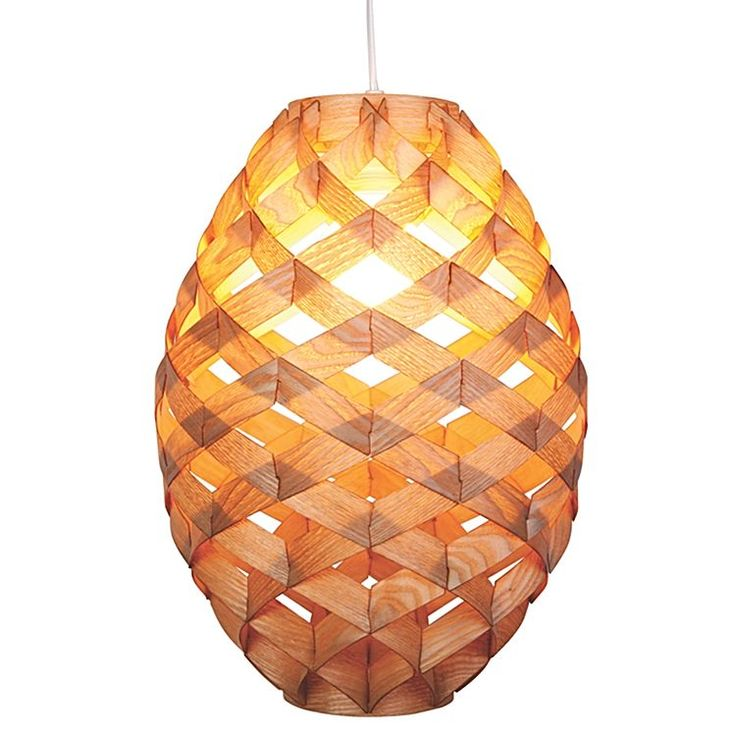 Fall under the enigmatic spell of graceful timber weaves with the Pine Cone Pendant Light from  sc 1 st  Pinterest & 22 best Veneer and blinds ideas images on Pinterest   Live ... azcodes.com