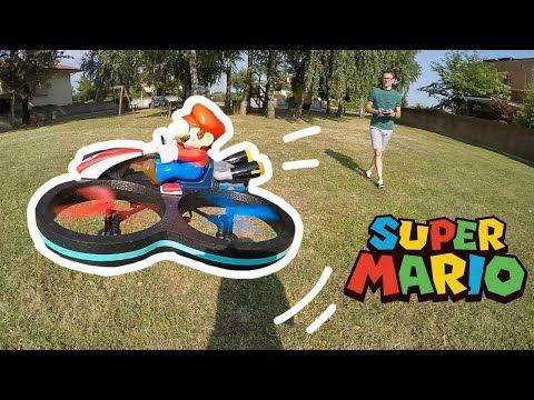 VOLIAMO CON IL SUPER MARIO DRONE: apertura e prova di volo #drone #nintendo #carreratoys #toys