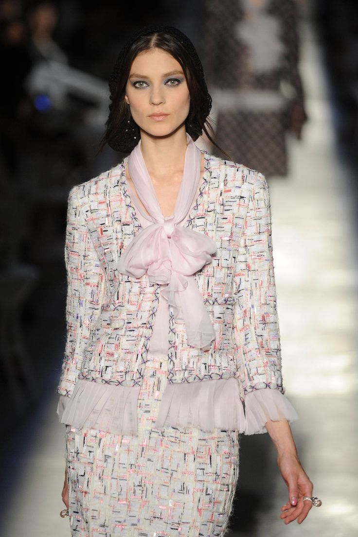 Chanel at Couture Fall 2012