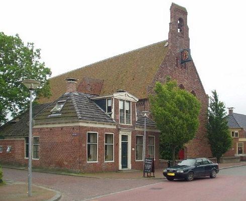 Kloosterkerk in Aduard, Bernardusklooster (restant van het grootste klooster in Noord Nederland) 12de eeuw