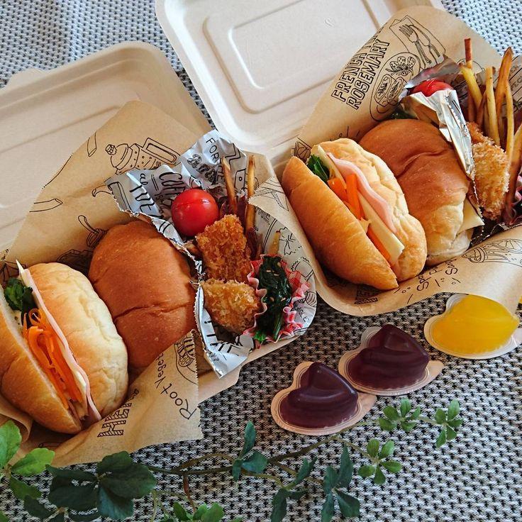いいね!99件、コメント12件 ― ことさん(@kotobiyori)のInstagramアカウント: 「今日から6年生と3年生。今年度も元気に通えますように。#お弁当 #今日のお弁当 #こども弁当 #バターロール #サンドイッチ弁当 #あすっことにんじんサンド #イカフライ #さつまいもスティック…」