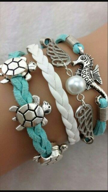 Tiffany Heart Bracelet >> 1000+ images about Beach Themed Jewelry on Pinterest ...