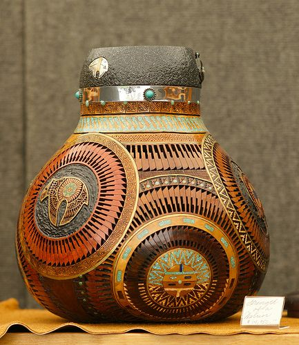46 best gourd art images on pinterest gourd art gourd for Southwest arts and crafts