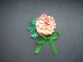 Moje biurko: Kursik kwiatowy V - piwonia lub chryzantema