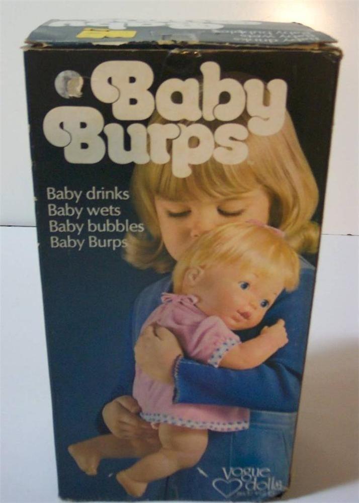 Vogue Vintage BABY BURPS 14