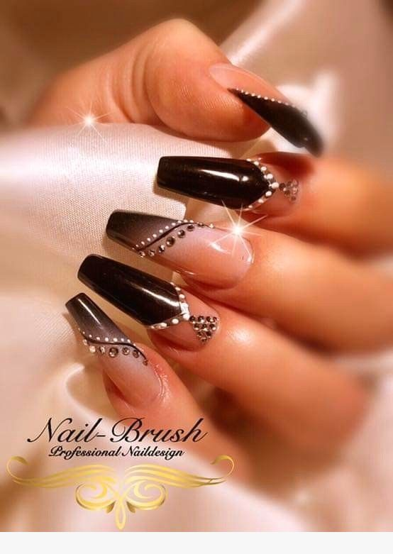 50 Fabulous Coffin Nail Designs For Women – Page 36 of 50 –