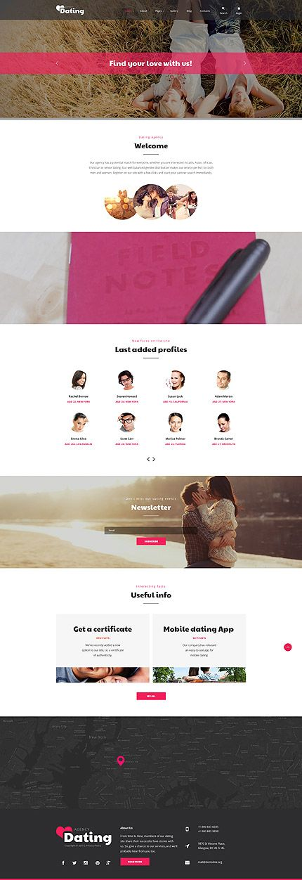 Dating •                          Most Popular •               Espresso Web Inspiration at your Coffee Break!          Joomla • Template #58364