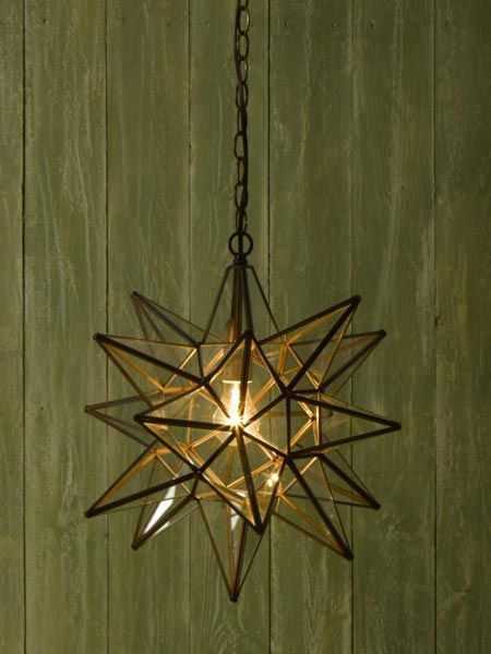 295 best el callejon art tin and glass stars images on pinterest clear glass keeps this large 18 point star pendant with a rust finish from feeling mozeypictures Image collections
