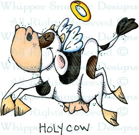 Holy Cow - Farm - Animals - Rubber Stamps - Shop