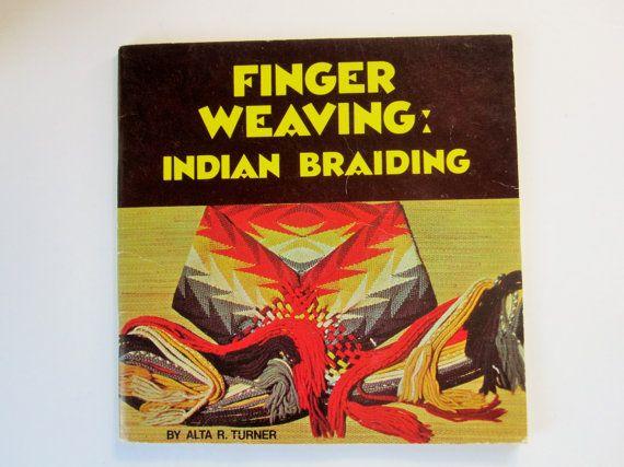 Didattico ' dito tessitura: intrecciatura indiano ' opuscolo dalla società Cahokia Mounds Museum - ristampa 1989 - colore - 48 pagine completo