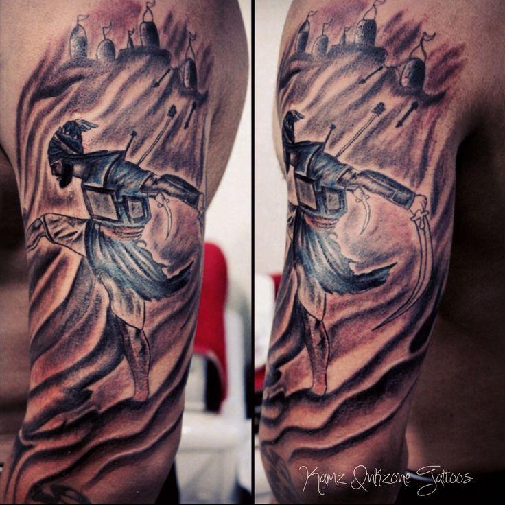 Punjabi Worrior Tattoo. Sikh Tattoo. Punjabi Warrior Done