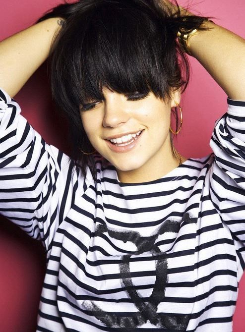 Lily Allen-especially after her new single. We need more famous ladies to speak up on the negative self image that the entertainment world projects onto women