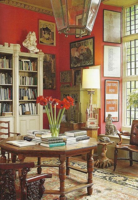 156 best images about library on pinterest rudyard - Best colour for study room ...