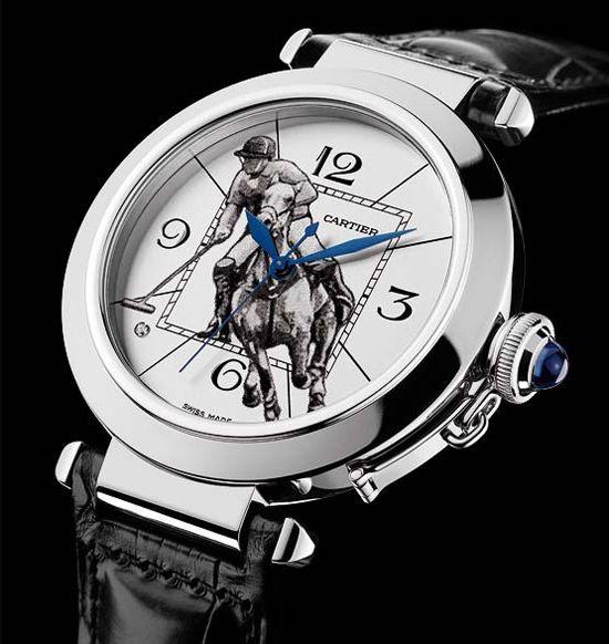 Cartier Polo watch bc Ralph Lauren isn't ballin