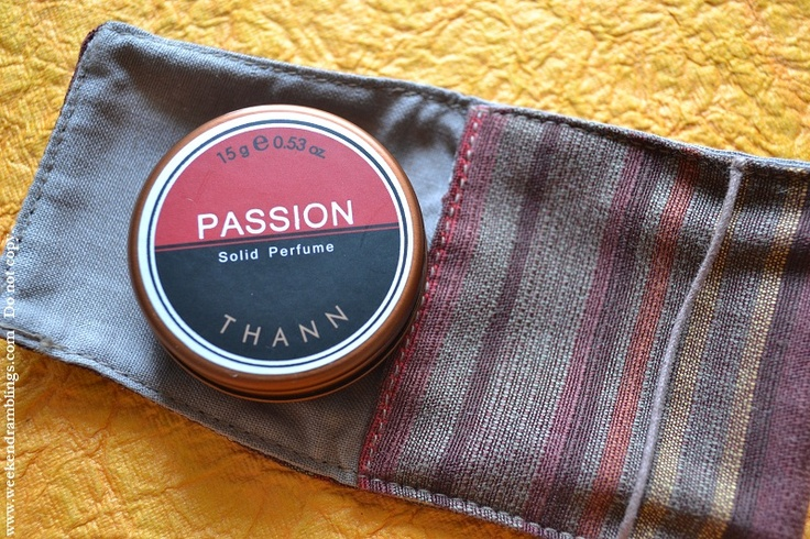 """Thann solid perfume """"passion"""" - LOVE this!!"""