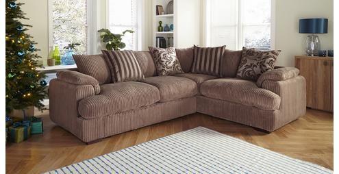 Celine Left Arm Facing 2 Seater Pillow Back Corner Sofa Celine | DFS £899