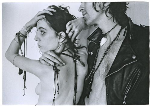 via:  from tobacco-and-leather  thedoppelganger:  Patti Smith and Robert Mapplethorpe, Judy Linn  (Source: organization)
