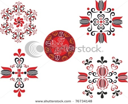 traditional Transylvania pattern