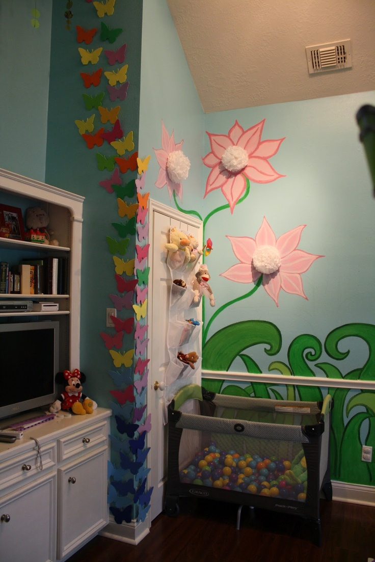 47 best ocean beach theme nursery images on pinterest sea isabel s playroom interactive foam butterfly wall