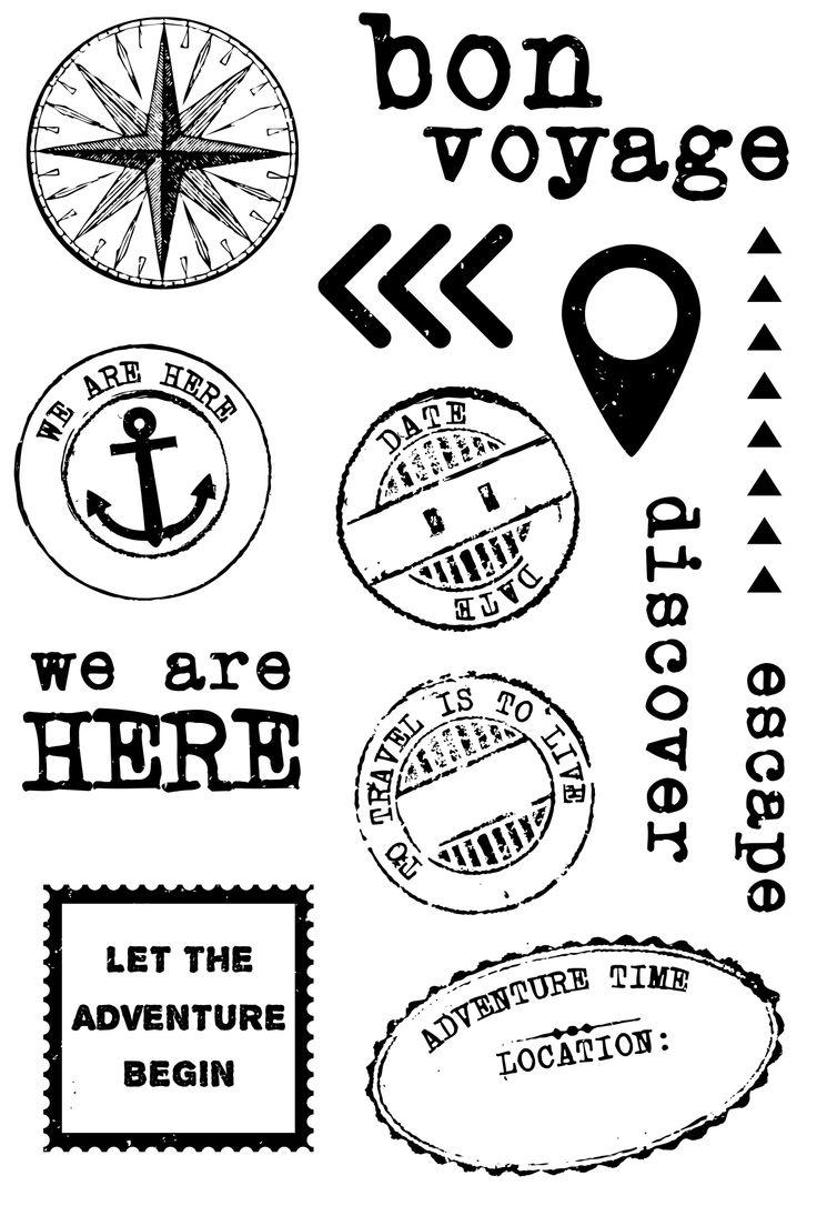 Wanderlust Clear Stamp CS206