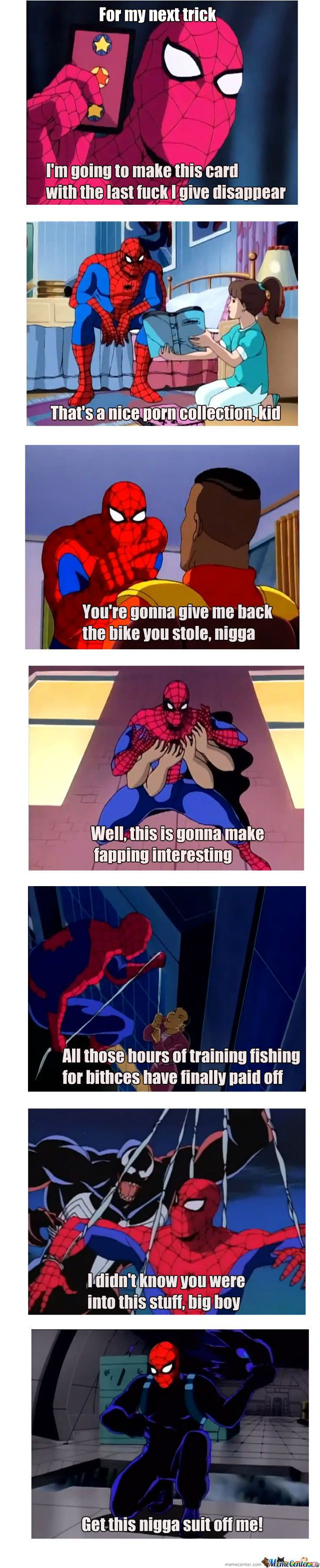 the spectacular spider-man meme | 90's Spider-Man 60's Style - Meme Center
