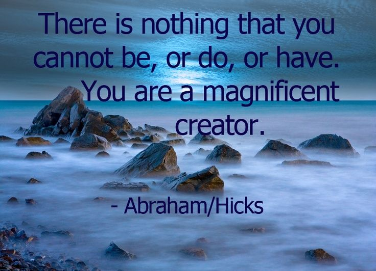 Abraham Hicks wisdom