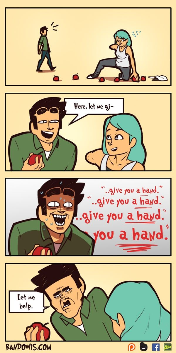 RandoWis :: Let me..   Tapastic Comics - image 1  legit my friends at all times except they always say it