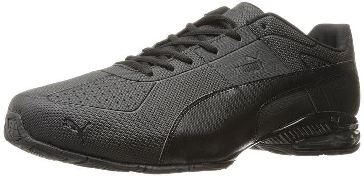 PUMA Men's Cell Surin 2 Pearl Cross-Trainer Shoe, Puma Black, 14 M US