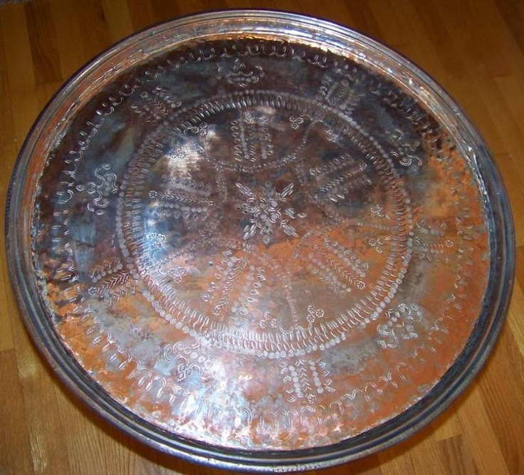 Coffee Table Copper Tray: All Of Them TURKISH
