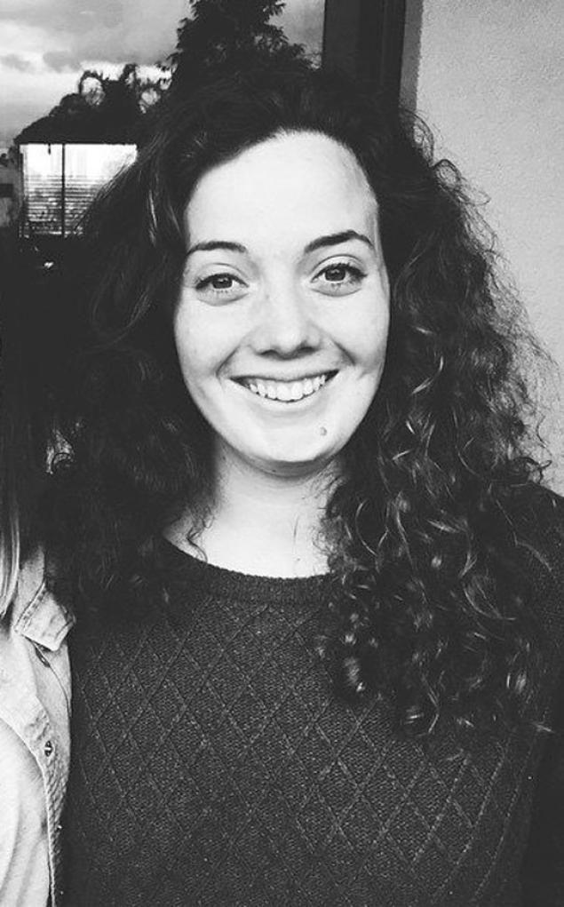 Kristi Kafcaloudis, 24, fell 1,000 feet to her death.