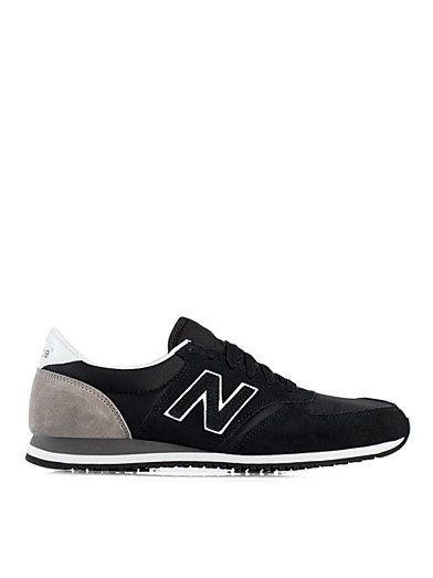new balance, black/grey