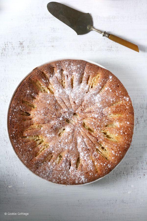 Recept voor een luchtige frise appelcake. Bak jij ook een taart op nationale appeltaartdag?