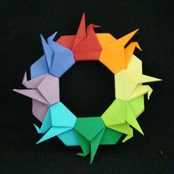 Origami Resource Center: Paper Crane (Peace Crane) -- history, symbolism, links to directions