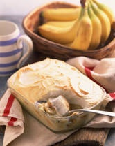 Easy Banana Pudding : 1 large pkg instant vanilla pudding, 2 1/2 cups cold milk,1 can sweetened condensed milk, 1 container whipped topping, sliced bananas ,vanilla wafer cookies