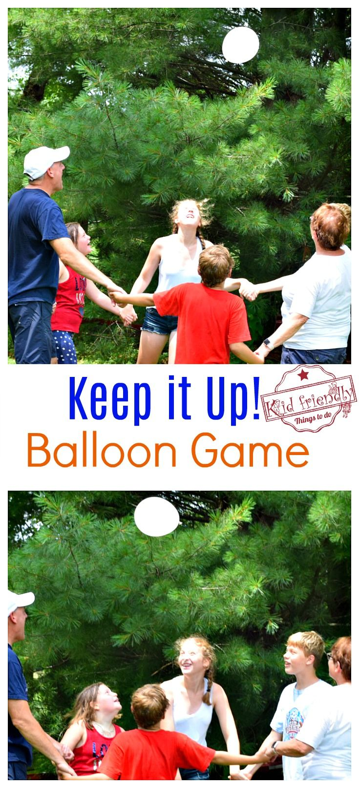 Just Keep it Up – A Fun Balloon Game for Kids, Teens, and Adults to Play