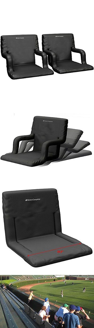 Other Outdoor Sports 159048: Wide Stadium Seats Chairs For Bleachers Or Benches - Enjoy Extra Padded Cushion -> BUY IT NOW ONLY: $109.99 on eBay!