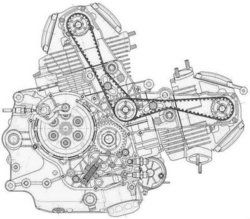26 best Motorcycle Engine Exploded View / Motores de moto