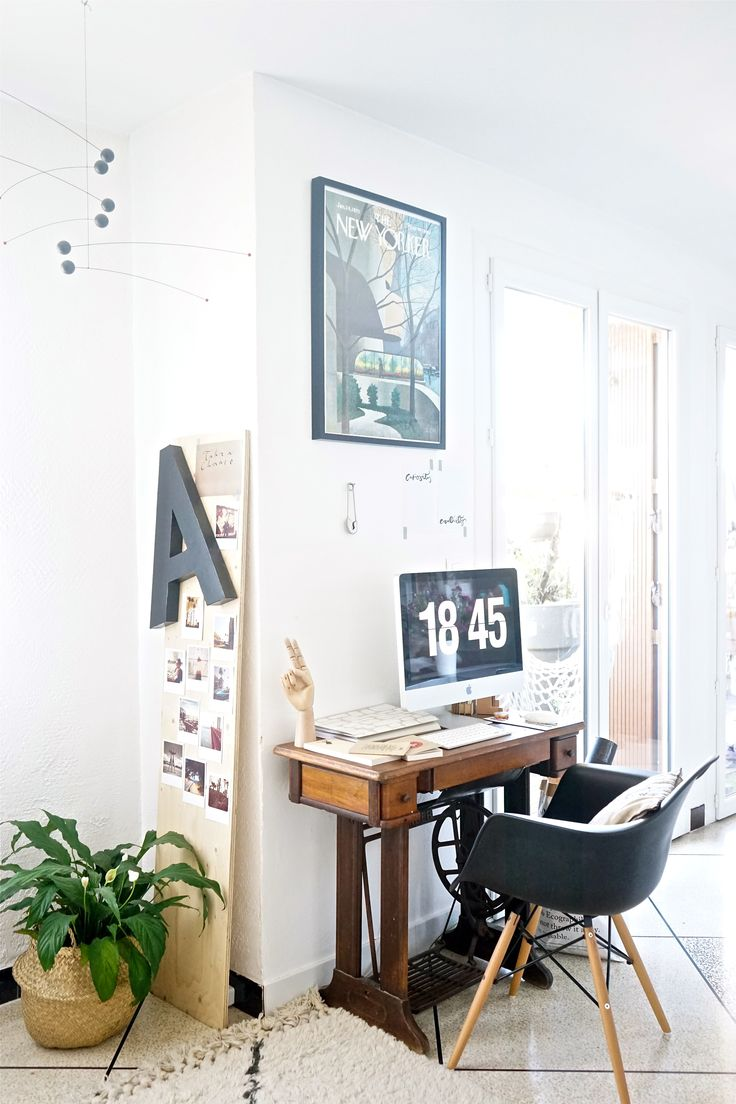 17 meilleures id es propos de tables de machine coudre for Idee bureau petit espace