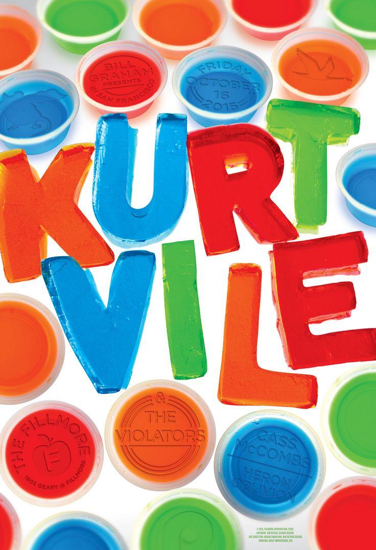 Poster: Kurt Vile & The Violators at the Fillmore SF on Behance