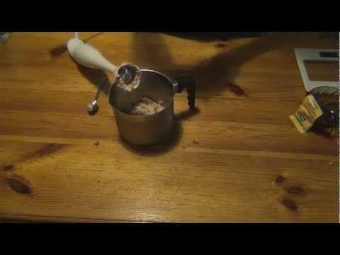 Zdrowe lody truskawkowe banan - bezchemii.info - YouTube