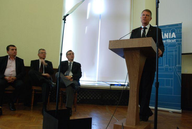 """Klaus Iohannis patronează a treia ediție a Conferinței Internaționale """"Disintegration and Integration in East-Central  Europe"""""""